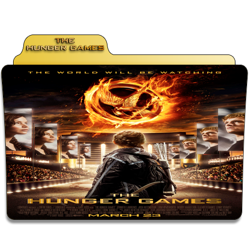 The Hunger Games Movie Folder Icon