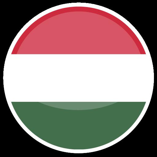 Hungary Icon Round World Flags Iconset Custom Icon Design