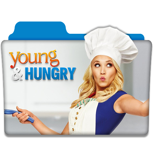Young And Hungry Tv Series Folder Icon