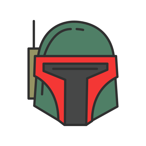 Bounty Hunter, Robot, Spacecraft, Starwars Icon
