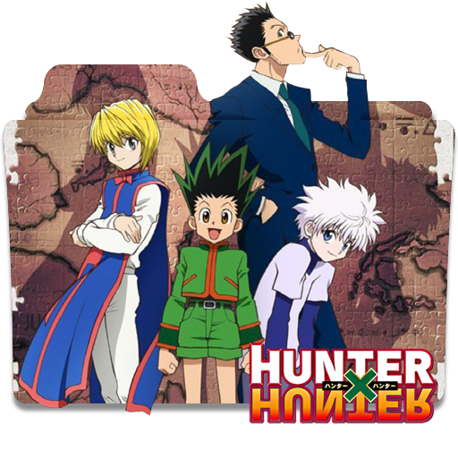 Hunter X Hunter Folder Icon