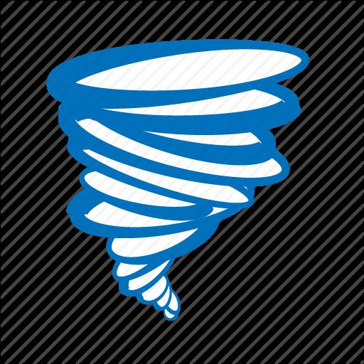 Hurricane, Spinning, Tornado, Turing, Twisting, Weather, Wind Icon