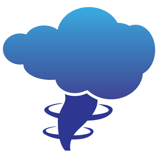 Blue Tornado Icon Download Free Icons