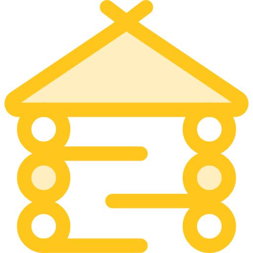 Architecture And City, Holidays, Hut Icon