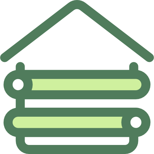 Buildings, Holidays, Hut Icon