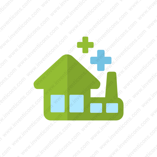 Download Eco,factory Icon Inventicons