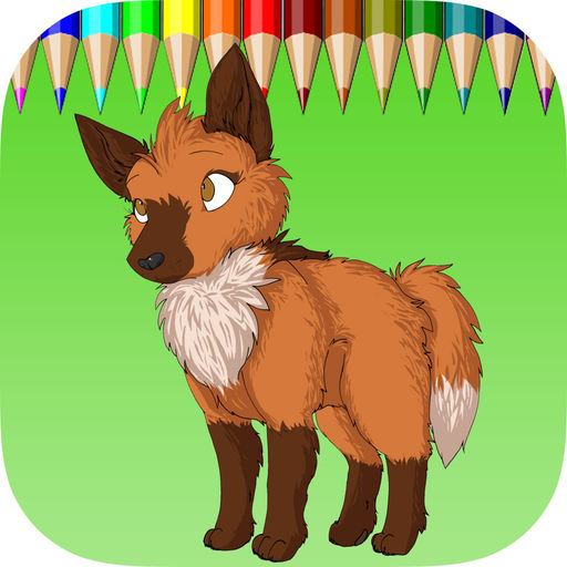 The Wolf Coloring Book Learn To Color And Draw A Wolf, Hyena