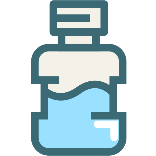 Mouthwash, Cleanliness, Toothbrush, Health, Tooth, Hygiene Icon