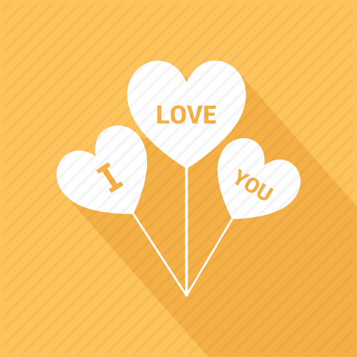 Heart, Heart Sign, I Love You, Love Logo, Sing Icon