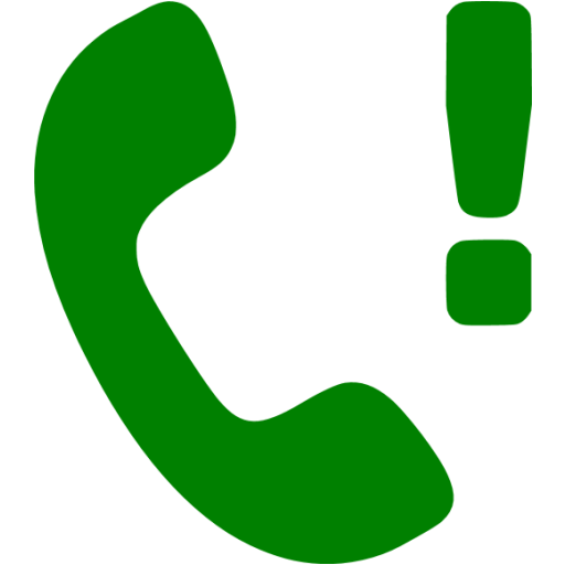 Green Missed Call Icon