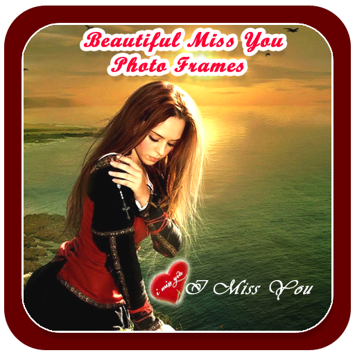 Poppy Apps Beautiful Miss You Photo Frame I Miss You Photo