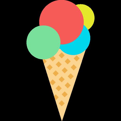 Dessert, Summertime, Food, Sweet, Summer, Ice Cream Icon