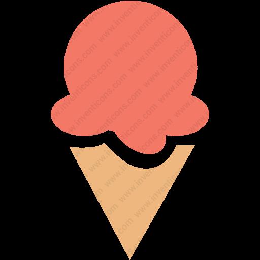 Download Colorful,dessert Food,ice Cream Icon Inventicons