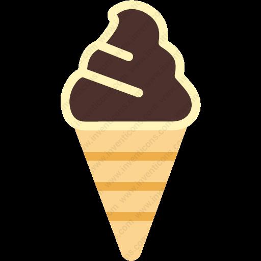 Download Dessert,sweet,cheery,cone,icecream Icon Inventicons