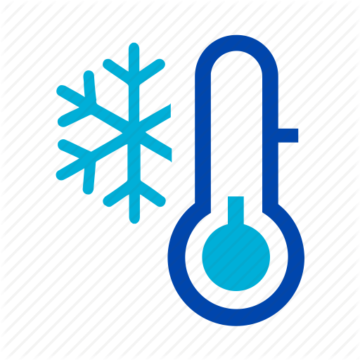 Cold, Freeze, Freezing, Ice, Snow, Thermometer, Winter Icon