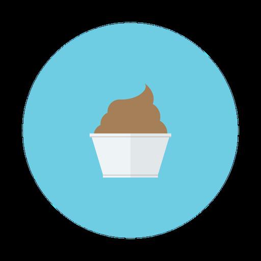 Dessert, Chocolate, Cup, Cream, Ice Icon