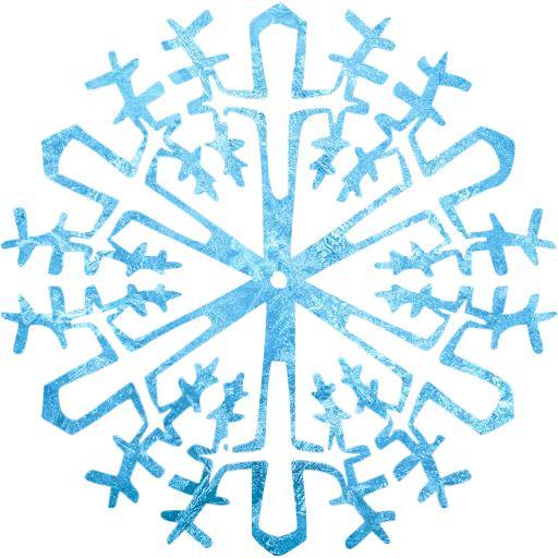 Ice Snowflake Icon