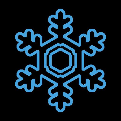 Snow, Cold, Snowflake, Flake, Christmas, Winter, Ice Icon