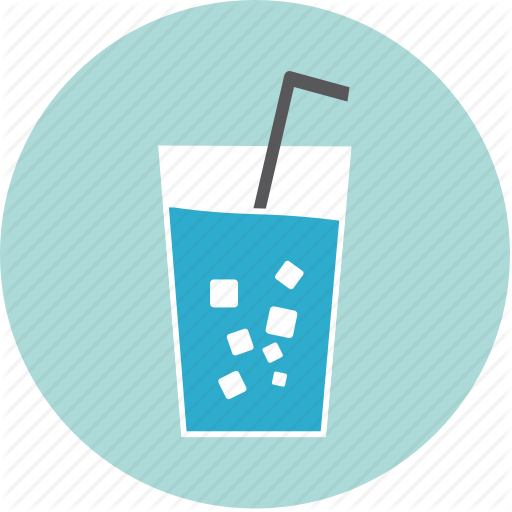 Alcohol, Beverage, Drink, Glass, Ice, Soda, Water Icon
