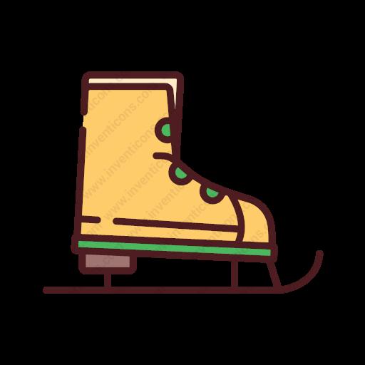 Download Ice,skate Icon Inventicons