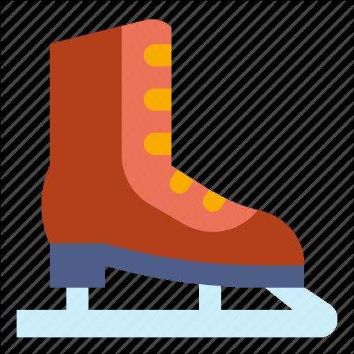 Ice, Skate, Skating, Sports, Winter Icon