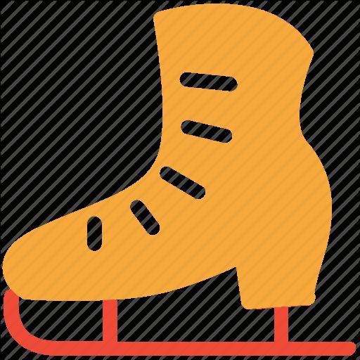 Ice Skates, Ice Skating, Skates, Sports Equipment Icon