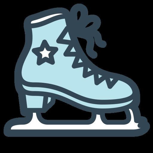 Skating, Ice Skating, Ice Skating Shoes Icon With Png And Vector