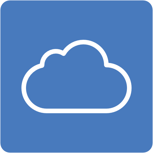 Icloud Icon Free Of Address Book Providers In Colors