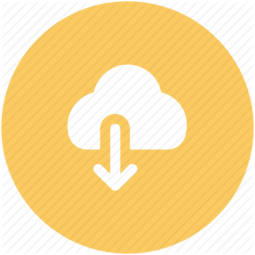 Cloud, Cloud Computing, Down Arrow, Download, Icloud Icon