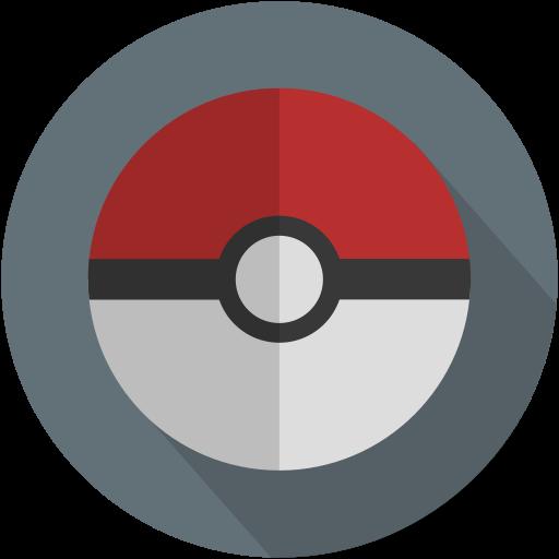 Long Pikachu, Pokeball, Pokemon Icon