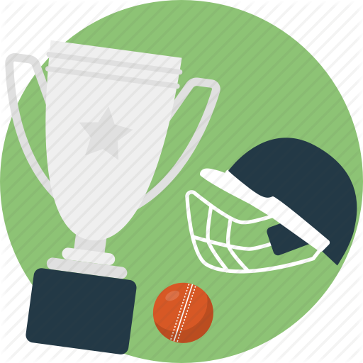 Cricket Championship, Cricket Tournament, Helmet, Tour, Trophy Icon