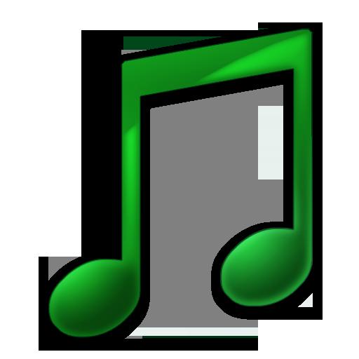 Toolbar Music Icon