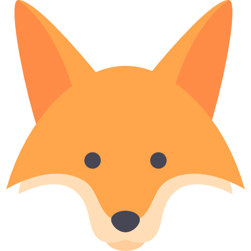 Fox, Animal, Icon