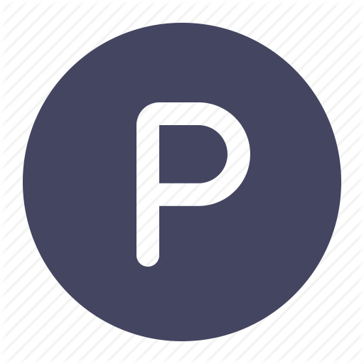 Circle, Park, Parking, Sign Icon