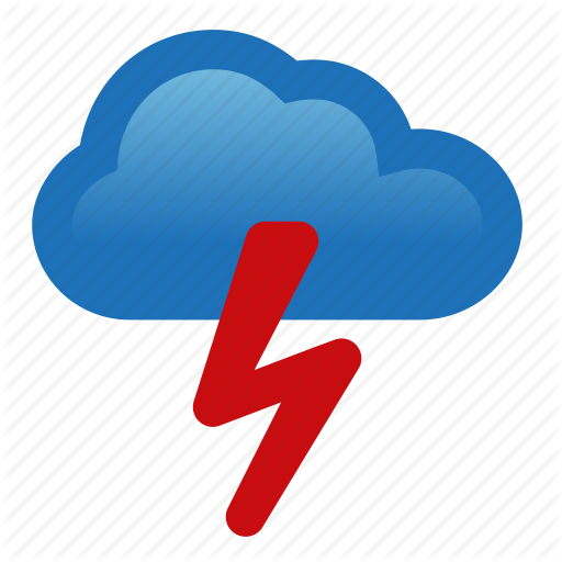 Thunderstorm Icons