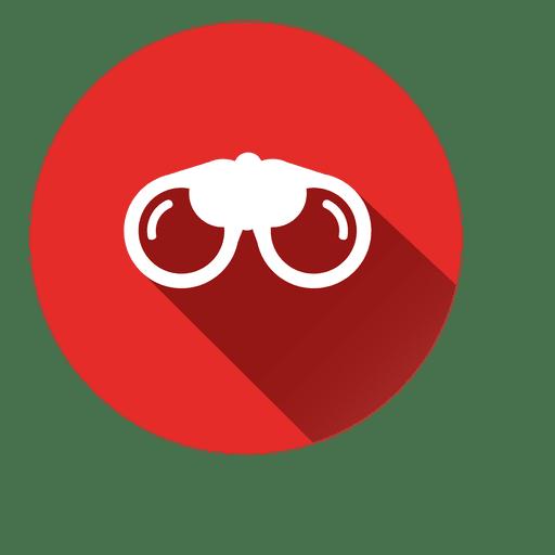 Goggle Circle Icon