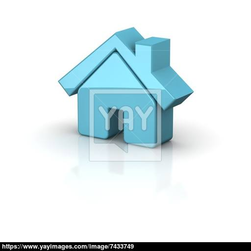 Shiny House Icon Image