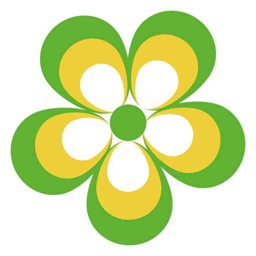 Colorful Flower Icon