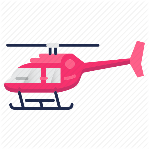 Aircraft, Airplane, Firefighter, Helicopter, Transport Icon