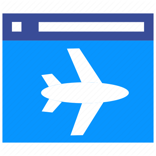 Aircraft, Airplane Page, Landing Page, Page, Plane, Website Icon