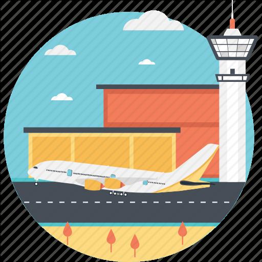 Airplane, Airport, Flight, Ready To Travel, Tour Icon