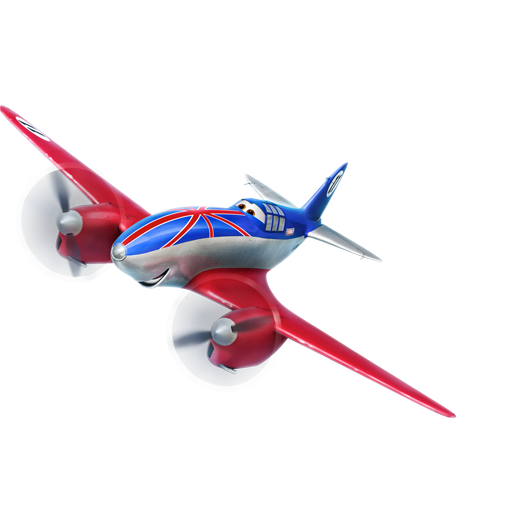 Bulldog Plane Icon Disney Planes Iconset Designbolts