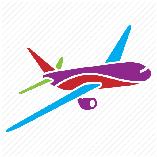 Air, Plane, Transport, Travel, Trip, Vacation, Voyage Icon