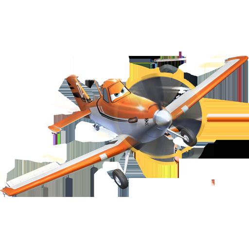 Dusty Plane Pose Icon Disney Planes Iconset Designbolts