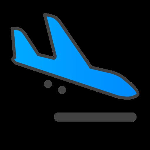 Plane Smooth Icon