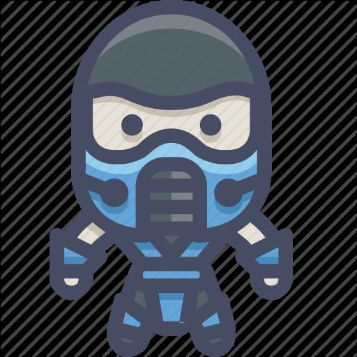 Character, Fighter, Mortalkombat, Subzero Icon