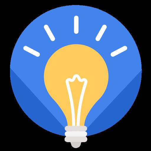 Idea, Light, Business, Work Icon