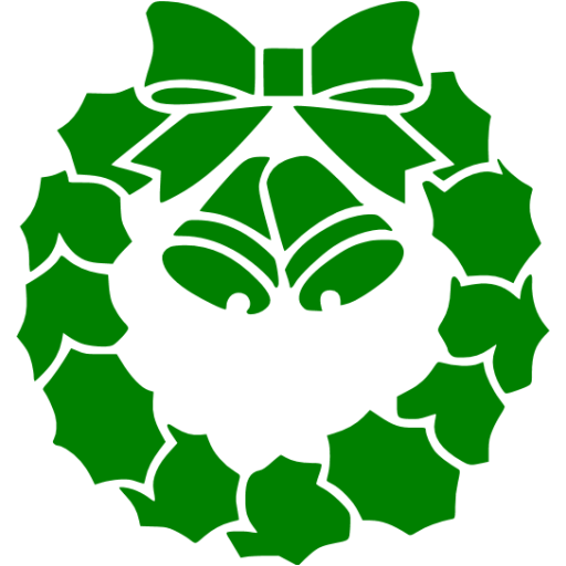 Green Christmas Icon