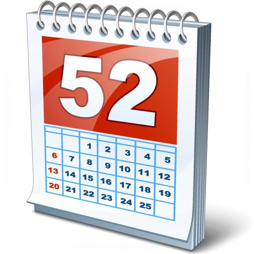Iconexperience V Collection Calendar Icon