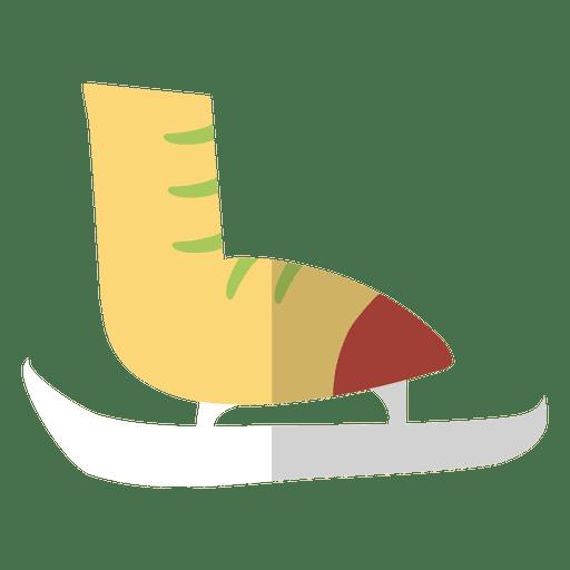 Ice Skate Flat Icon